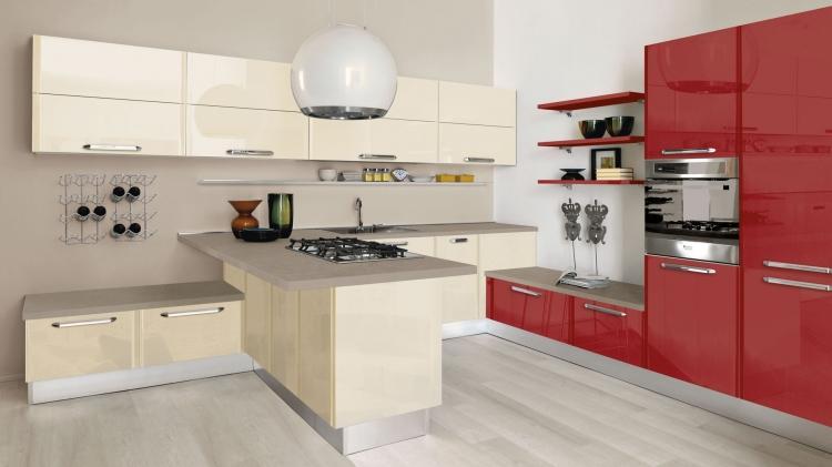 cucine moderne fuxia  triseb, Disegni interni